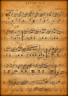Vintage_Music_Sheet_Stock_by_the_one_and_only