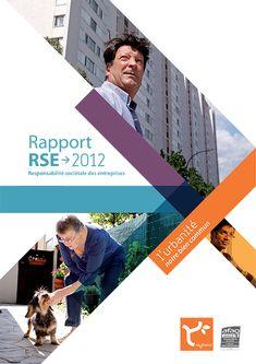Le rapport d'activité 2012 d'aquitanis - aquitaniSphere Brochure Cover, Brochure Layout, Brochure Design, Web Design, Page Design, Flyer Design, Prospectus, Creative Poster Design, Booklet Design