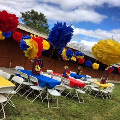 Super hero party decorated by us