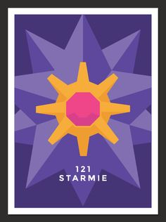 A series of minimalist Pokemon posters done for warm ups.