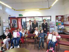 Daventry Arts Award Celebration with the Mayor and Mayoress!