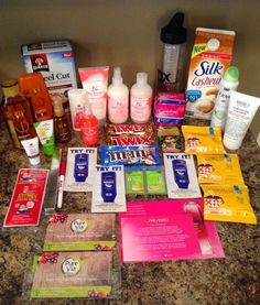 The Peppermint Heart: How I Get Freebies - How to get free stuff in the mail Free Samples Without Surveys, Free Samples By Mail, Free Stuff By Mail, Get Free Stuff, Free Sample Boxes, Free Boxes, Chemical Free Makeup, Freebies By Mail, Extreme Couponing