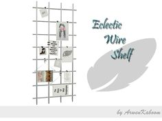 ArwenKaboom's Eclectic Wire Shelf (Decor) (Decor > Paintings)