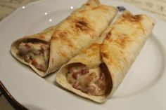 Tortitas de champiñon beicon y queso .Ideas que mejoran tu vida