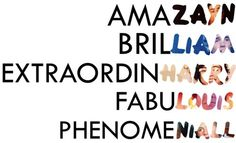 One Direction Photo: Special words/names One Direction Quotes, One Direction Pictures, I Love One Direction, X Factor, One Direction Wallpaper, 1d Imagines, Special Words, Favim, First Love
