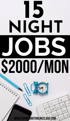 Want to work late night from home? Great! Here is a huge list of late night workat home jobs that you can use to earn good money at home. These are legit work from home jobs for everyone. You can choose to work part-time or full-time using these online jobs. #workathomejobs #workfromhomecareers #makemoney #sidehutles #remotejobsathome