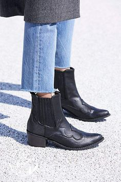 Matisse Vegan Cavalier Boot by at Free People Black Leather Shoes, Leather Ankle Boots, Black Suede, Suede Boots, Black Boots, Cavalier Boots, Shoes Boots Ankle, Ankle Jeans, Vegan Boots