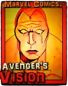 Vision from Avengers, Poster Sizes for $9.99