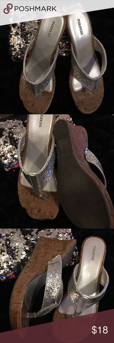 SIZE 11 sequin MAURICES These are in perfect condition!! Like new!!! Maurices Shoes