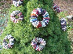 Creative Passage: Handmade Wool Wreath Christmas Ornaments