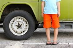 KID Shorts: with FRONT Pockets!