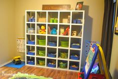 Homemade Ikea Expedit Bookcase