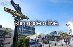 RODEO DRIVE BABY!!