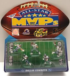 The Angry Spider has the best toys: (TAS000069) - 199...  Take a look: http://theangryspider.com/products/tas000069-1997-galoob-nfl-all-star-mvps-dallas-cowboys?utm_campaign=social_autopilot&utm_source=pin&utm_medium=pin