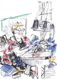 Yarmouth Stores Ltd - Julie BolusReportage Illustrator