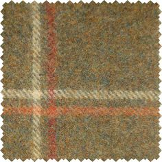 Sanderson Woodford Plaid is the largest design woven on a multi-coloured warp with a different striped pattern in the weft. This style is known as a Madras Check and creates a less formal look than traditional tartans.  Shown here in: Sage.