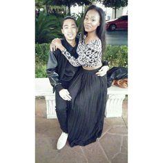 Cute #ambw couple AMBW #AsiaBlackCouples #AMBW