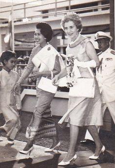 Their Majesties Queen Sirikit of Thailand & Queen Ingrid of Denmark