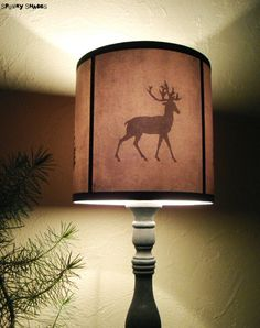 Harry Potter Deer And Stag Patronus Lampshade Homemade