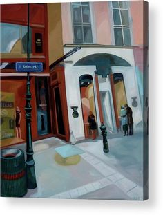 Vienna Acrylic Print featuring the painting Kohlmarkt by Carmen Stanescu Kutzelnig Thing 1, Framed Prints, Canvas Prints, Acrylic Sheets, Aluminium Sheet, Pillow Sale, Got Print, Art Pages, Clear Acrylic