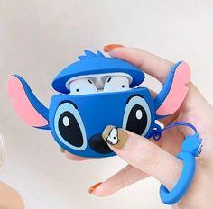 Cute Lilo and Stitch Airpod Case Cover on Mercari Lilo E Stitch, Cute Stitch, Disney Stitch, Cute Ipod Cases, Cute Headphones, Iphone Cases Disney, Iphone 5c, Accessoires Iphone, Airpod Case
