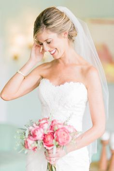 Stunning bride: http://www.stylemepretty.com/california-weddings/los-angeles/2015/02/09/glamorous-fig-house-wedding/ | Photography: Honey Honey - http://www.hoooney.com/
