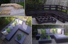 10 DIY Outdoor Furniture Pieces