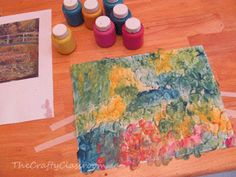 Monet Craft for Kids - and other artists, too! (The Crafty Classroom)