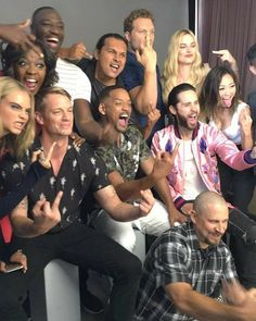 Jai Courtney Suicide Squad Cast San Diego Comic Con 2016