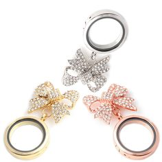 10pcs  High quality alloy Newest 30mm Glass Floating Locket Brooch Silver Rhinestones Crystal Butterfly Brooches. Yesterday's price: US $72.00 (59.53 EUR). Today's price: US $38.88 (32.17 EUR). Discount: 46%.