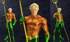 Shares Fans of DC Comics' 2011 revamp The New 52 will love this outstanding Aquaman New 52 ArtFX Statue from Kotobukiya. As popular as he is critically acclaimed in the pages of the Aquaman comic book series from The New 52, the Aquatic Ace is represented with fantastic detail in this statue. Arthur Curry's alter […]
