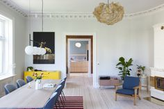 Historical apartment in Oslo, Norway // By Romlaboratoriet AS // Photo: Elisabeth Aarhus Aarhus, Oslo, Norway, Projects, Design, Home Decor, Log Projects, Blue Prints, Decoration Home
