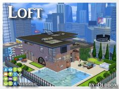 Penthouse by Oldbox at All 4 Sims • Sims 4 Updates