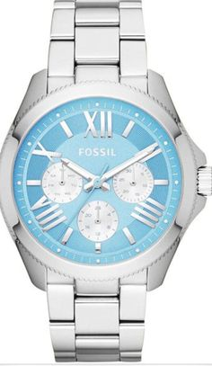 Tiffany blue and silver watch