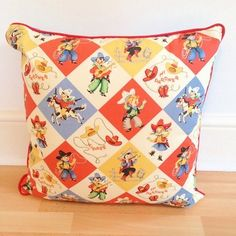 Cowboy kids cushion             by The Long Collection, £26.99
