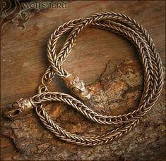 Bronze Viking Necklace