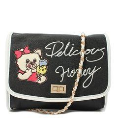HONEY emblem clutch of LDS (El Dee es) (clutch bag) | Black system    www.MormonLink.com  #LDS #Mormon #SpreadtheGospel