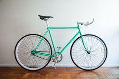 Bike Fixa Brasil: Manifesto Caloi 10 Convertida em Fixa