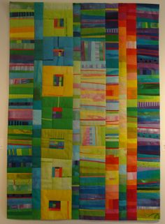 "DH and I spent a pleasant hour and a half this afternoon at the Anderson Arts Center in Kenosha. The featured exhibits are ""Quilts in Colo..."