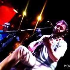 Raúl Ornelas en concierto