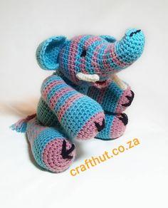 Meet zebra-elli identity crisis elephant :) #crochetistherapy #crochetcapetown #onlinecraftmarket #crafthutsa #crochetelephant #crochettoy