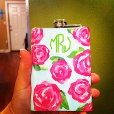 Lilly flask