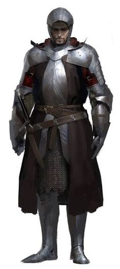 m Fighter plate helm sword Village Guard Eric Dranor, Général de Varnhold Int7 Everyone calls him general cause he really likes it