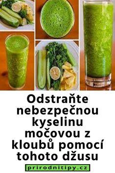 Odstraňte nebezpečnou kyselinu močovou z kloubů pomocí tohoto džusu Pickles, Cucumber, Smoothie, Food, Diet, Health, Essen, Smoothies, Meals