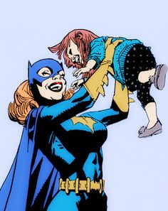 """barbaragordan: """"mood: babs stopping mid fight to make young girls feel good about themselves """""""