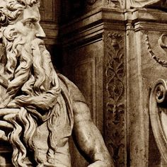 Michelangelo sculptues in Rome, Italy | this print is classified into these categories art objects sculpture