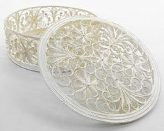 "Russian Filigree Box  ""Rose"""