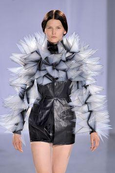 Iris Van Herpen at Couture Fall 2011