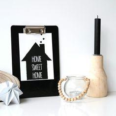 HOME SWEET HOME...te koop in de shop (www.studio-catootje.nl)