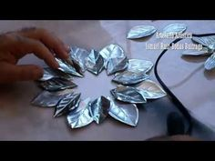 DIY - RECICLAJE DE LATAS - ESFERA - YouTube